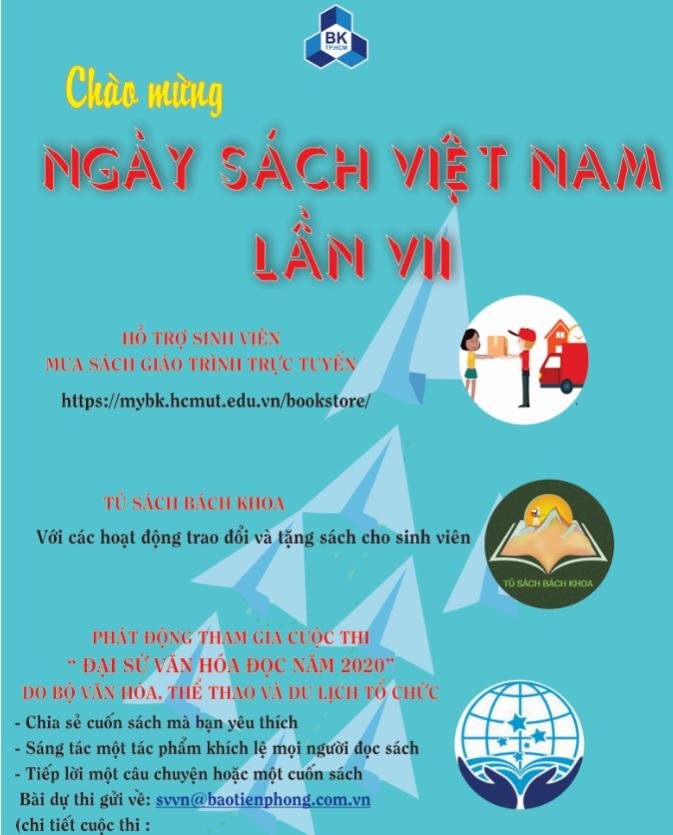 Chào mừng Ngày Sách Việt Nam - Lần VII