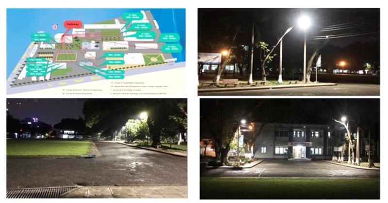 Hệ thống chiếu sáng công cộng thông minh dùng LED