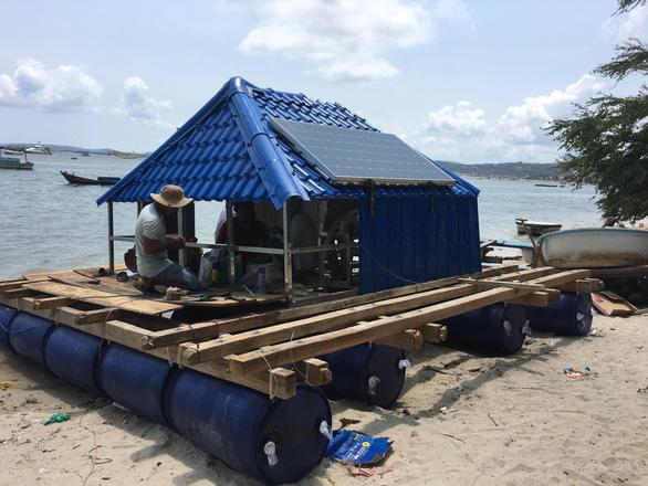 Nền tảng giám sát môi trường biển ứng dụng IoT
