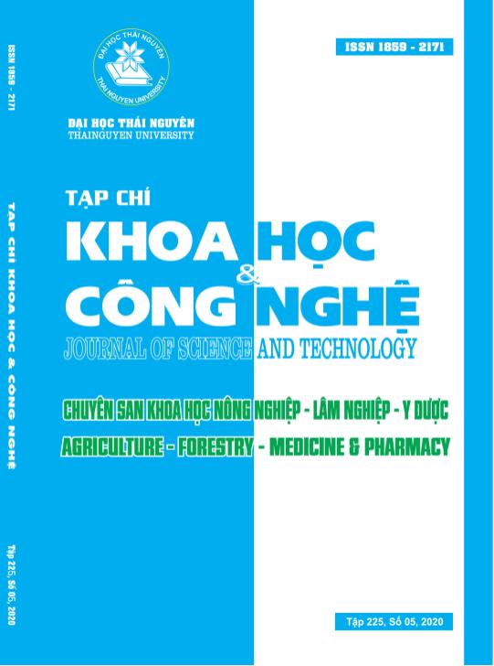 Tạp chí Khoa học và Công nghệ Đại học Thái Nguyên