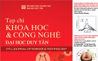 Tạp chí Khoa học và Công nghệ trường Đại học Duy Tân