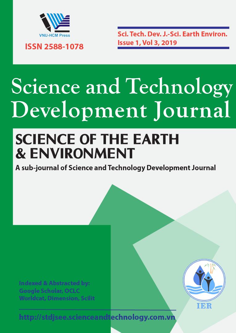 Tạp chí Phát triển Khoa học và Công nghệ - Khoa học Trái đất và Môi trường