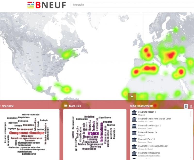 Thông báo phục vụ Thư viện số BNEUF miễn phí