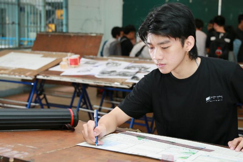 Trường Đại học Bách Khoa không tổ chức thi vẽ